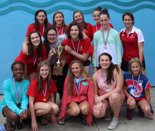 Girls swimming wins fourth straight state title; boys bring home second place