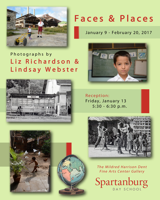 'Faces & Places' gallery exhibit open through Feb. 20