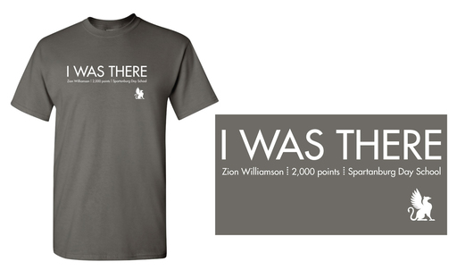 Order your 'I WAS THERE' T-shirt by Friday