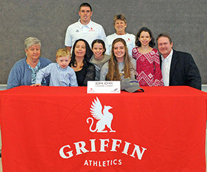 Senior Sophi Jones signs with Converse for gymnastics