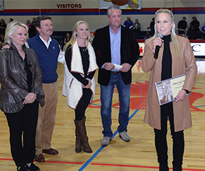 Alum, tennis standout Mallory Cecil inducted as 22nd member of Sports Hall of Fame