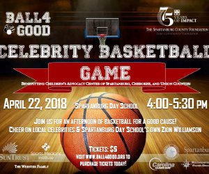 Tickets on sale for Ball4Good charity basketball tournament, April 22