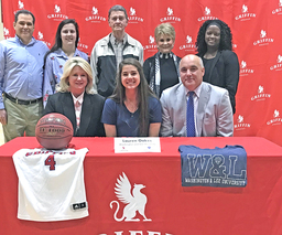 Senior Lauren Oakes signs to play basketball with Washington & Lee