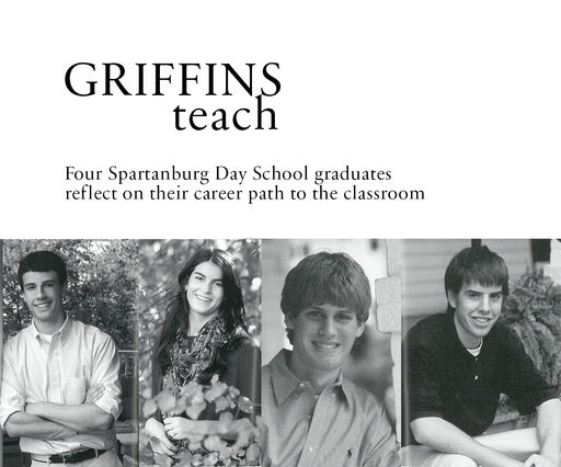 Griffins Teach: Four alums who have gone on to careers in education