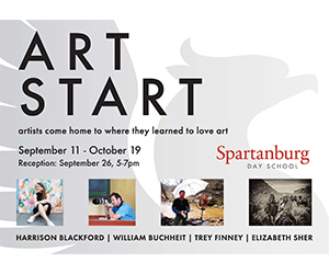 'Art Start' alumni exhibit now on display; reception Sept. 26