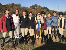 Equestrian team competes at Harmon Field