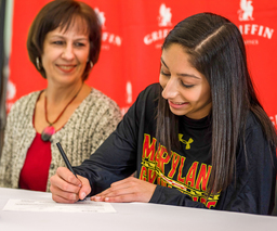 Senior Aleka Tsiknias commits to University of Maryland gymnastics