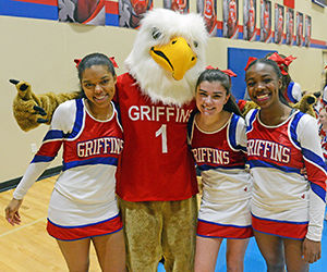'Be a Griffin' at Homecoming, Jan. 25